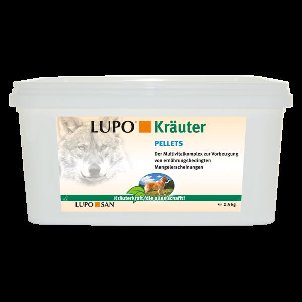Vorratspack LUPO Kräuter Pellets 2,4 kg