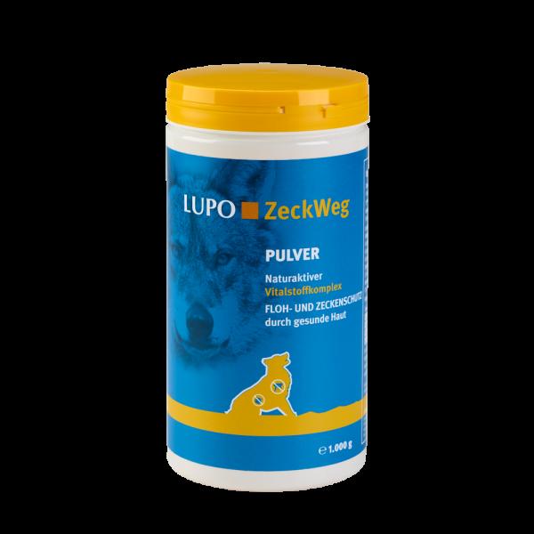 LUPO ZeckWeg - Floh- & Zeckenschutz durch gesunde Haut