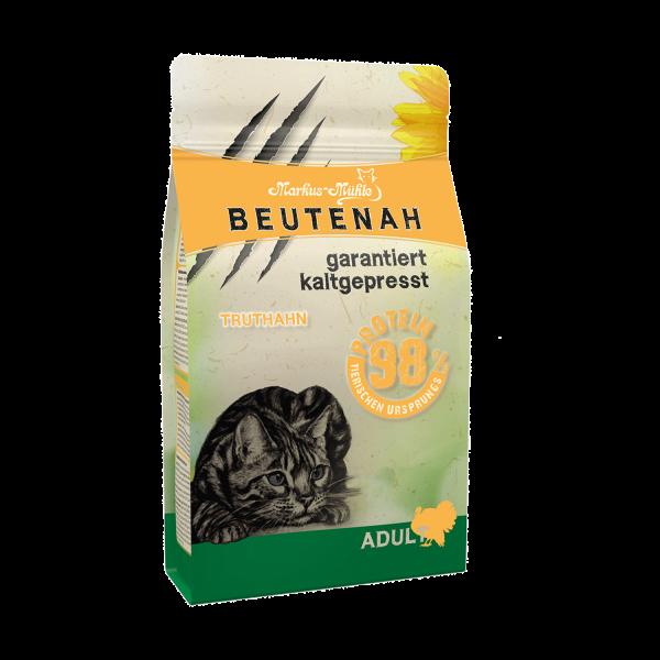 BEUTENAH Truthahn - Kaltgepresstes Katzentrockenfutter