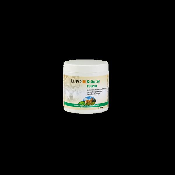 LUPO Kräuter Pulver - Ergänzungsfuttermittel auf Kräuterbasis