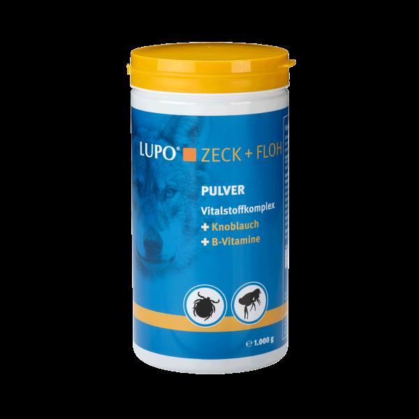 LUPO Zeck + Floh - Vitalstoffkomplex mit Knoblauch & B-Vitaminen