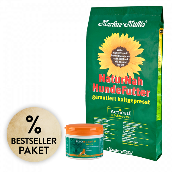 Bestseller-Paket NaturNah 15 kg + LUPO Gelenk 30 375 g